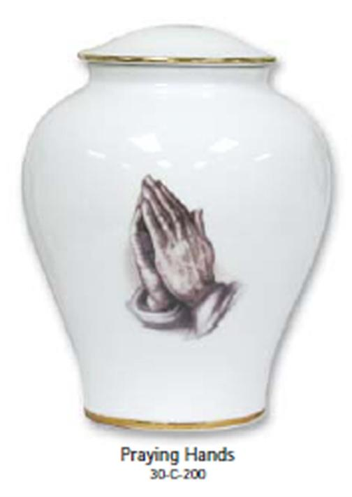 30-C-200 Porcelain-Praying Hands
