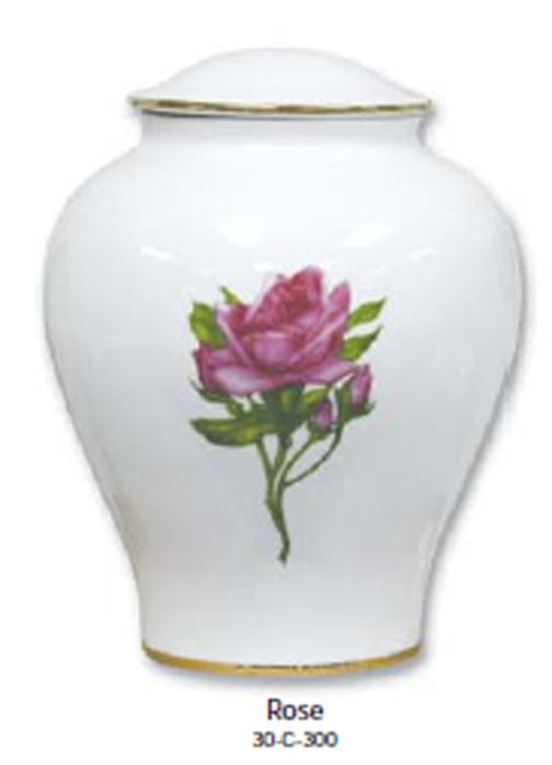 30-C-300 Porcelain-Rose