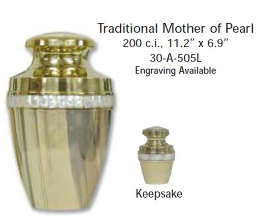 30-A-505L Traditional Mother Of Pearl